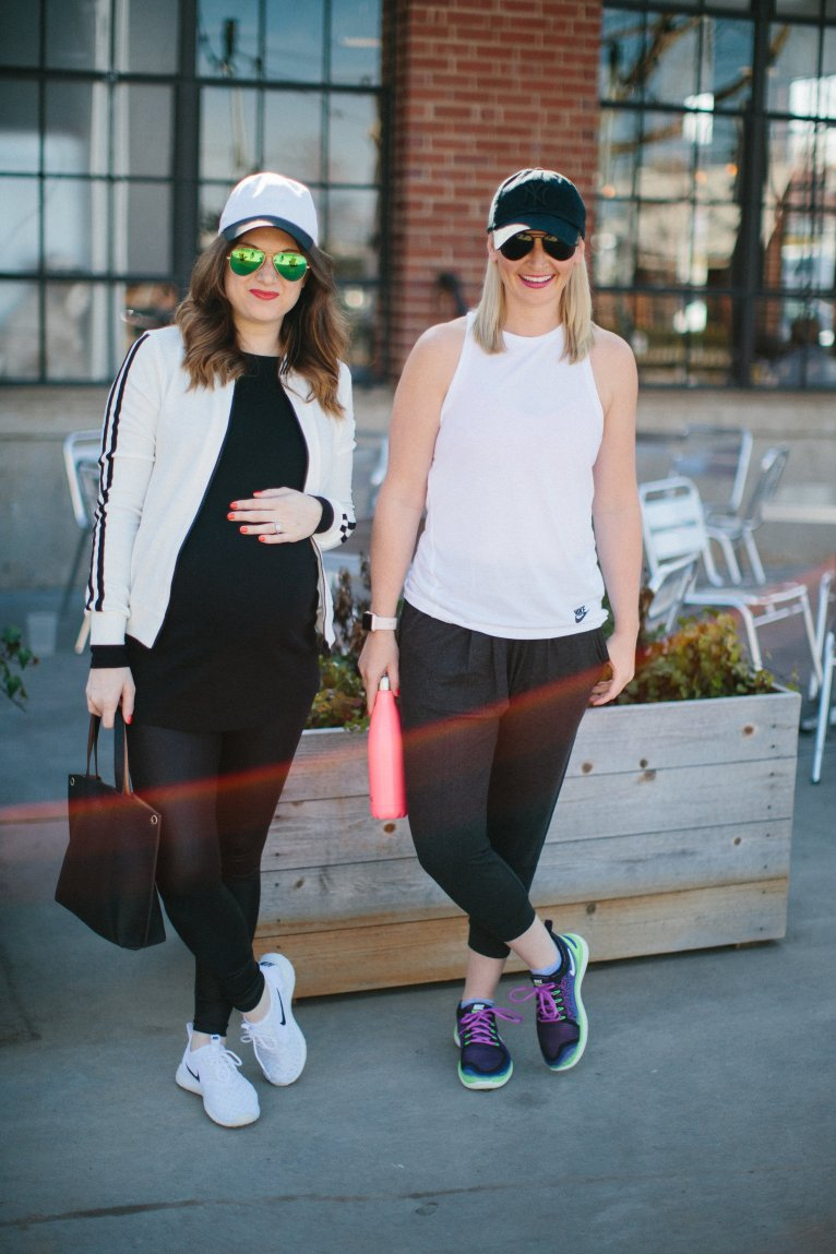 How to Wear Athleisure // www.polishedclosets.com