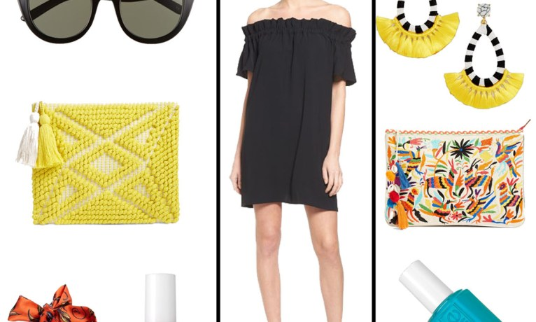 One Piece, Two Ways: Off the Shoulder Dress
