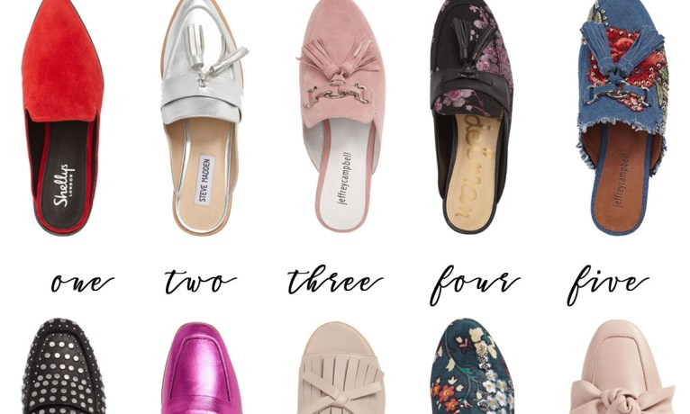 Pick of the Week: 10 Pairs of Embellished Mules Shoes