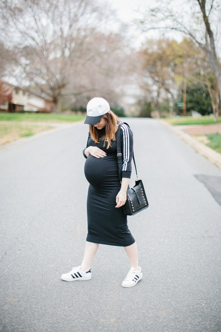 The Most Comfortable & Stylish Adidas Dress by fashion blogger Maggie of Polished Closets