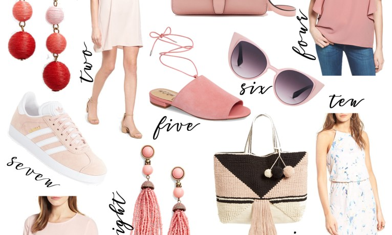 The Look: Staples For Your Blush Outfits