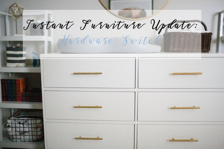 Furniture Makeover: Instant Furniture Update by lifestyle blogger Maggie from Polished Closets