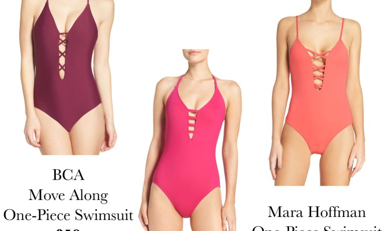 Save or Splurge? The One Piece Swimsuit