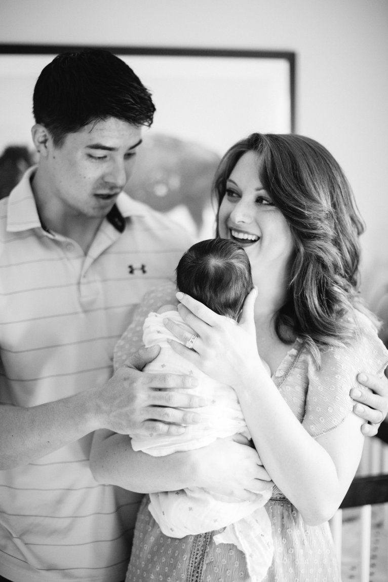 Newborn Family Photos and My Life as a New Mom by lifestyle blogger Maggie of Polished Closets