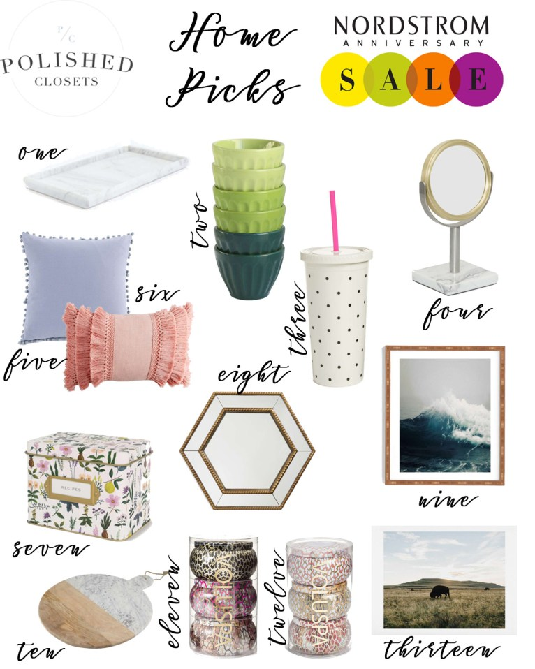 The Best Home Picks from the Nordstrom Anniversary Sale 2017 by Fashion and Lifestyle Blogger Maggie Kern of Polished Closets