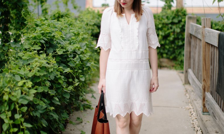 Embroidered Shift Dress: The Perfect Casual Summer Dress
