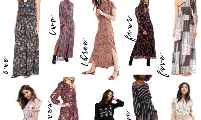 Pick of the Week: Fall Maxi Dresses