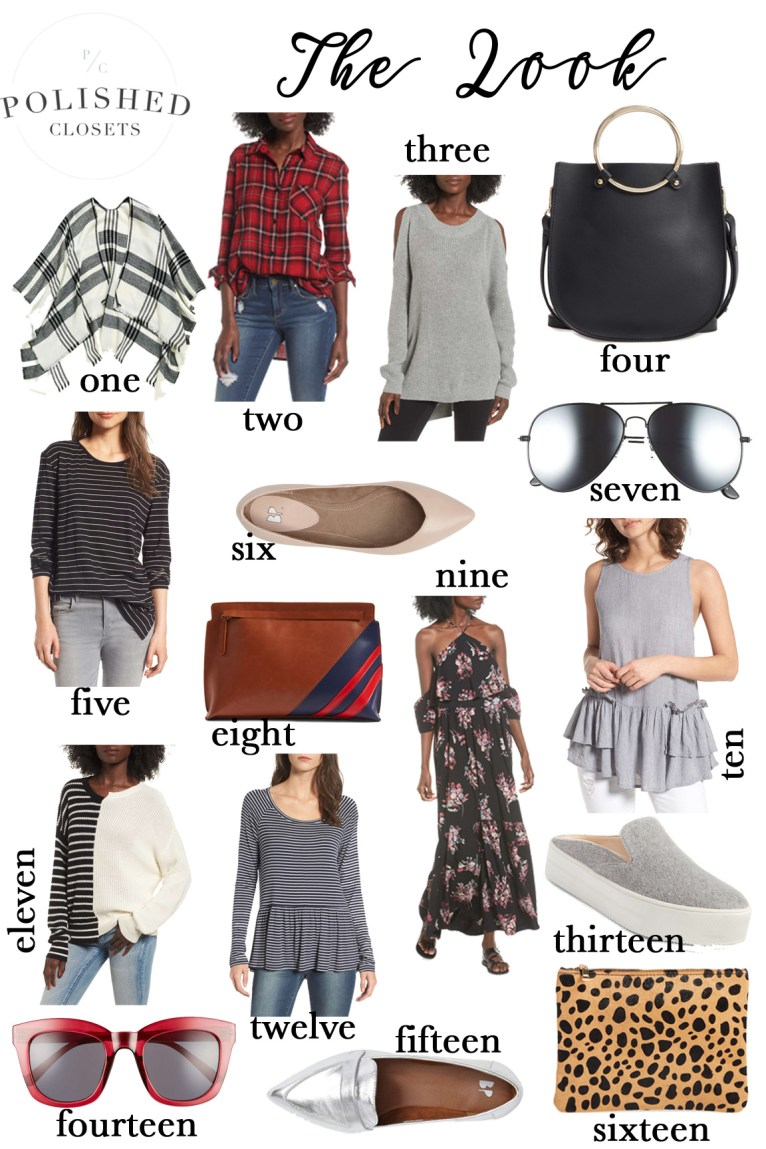 The Best of Fall Clothing Under $50 styled by Fashion Blogger Maggie Kern of Polished Closets