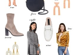 What you need from the Shopbop Sale 2017 by Fashion Blogger Maggie Kern of Polished Closets.