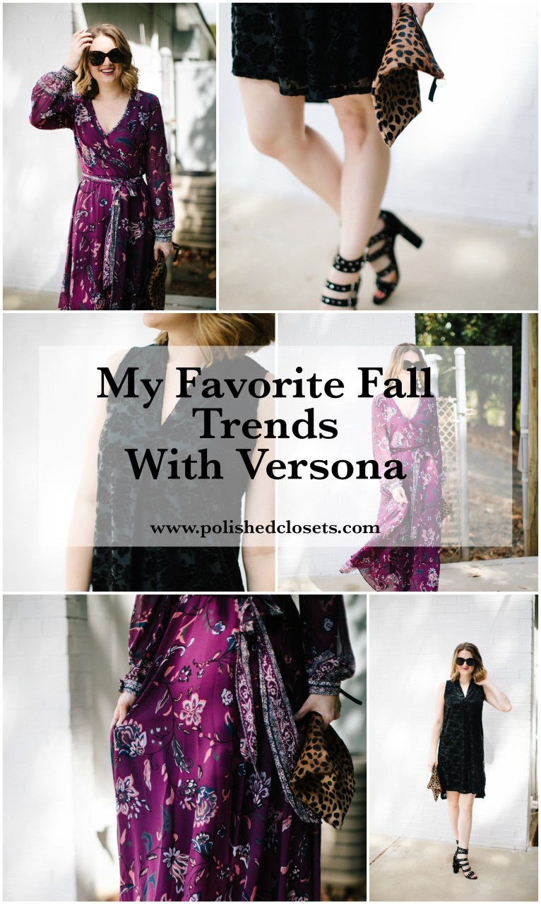 Fashion Blogger Maggie Kern of Polished Closets Shares Her Favorite Fall Trends with Versona