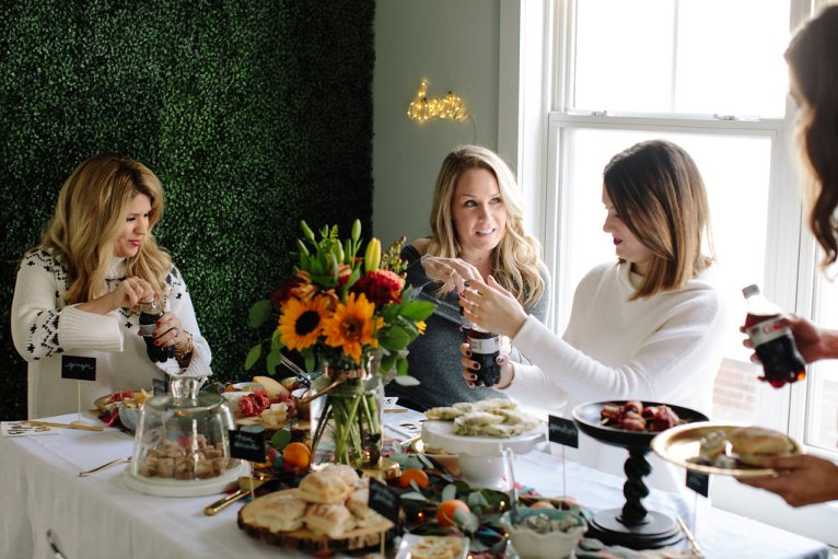 Holiday Party Ideas with Diet Coke by fashion and lifestyle blogger Maggie Kern of Polished Closets.