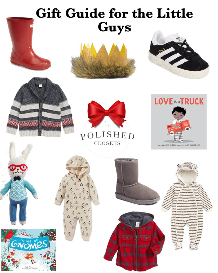 The best gifts for baby boy by fashion, lifestyle, and mom blogger Maggie Kern of Polished Closets.