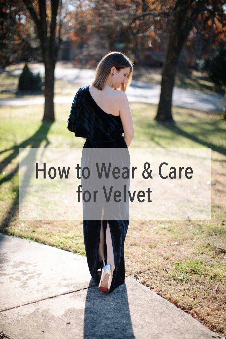 How to Wear and Care for Velvet