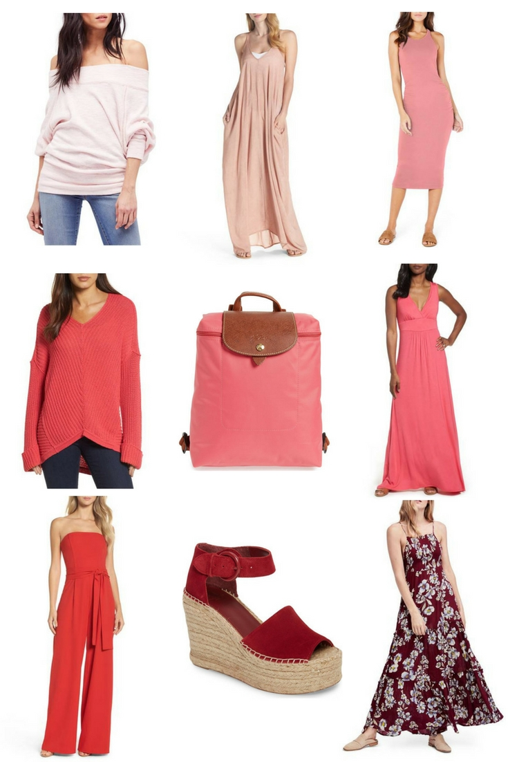 The prettiest pink and red clothing for Valentine's Day and beyond!