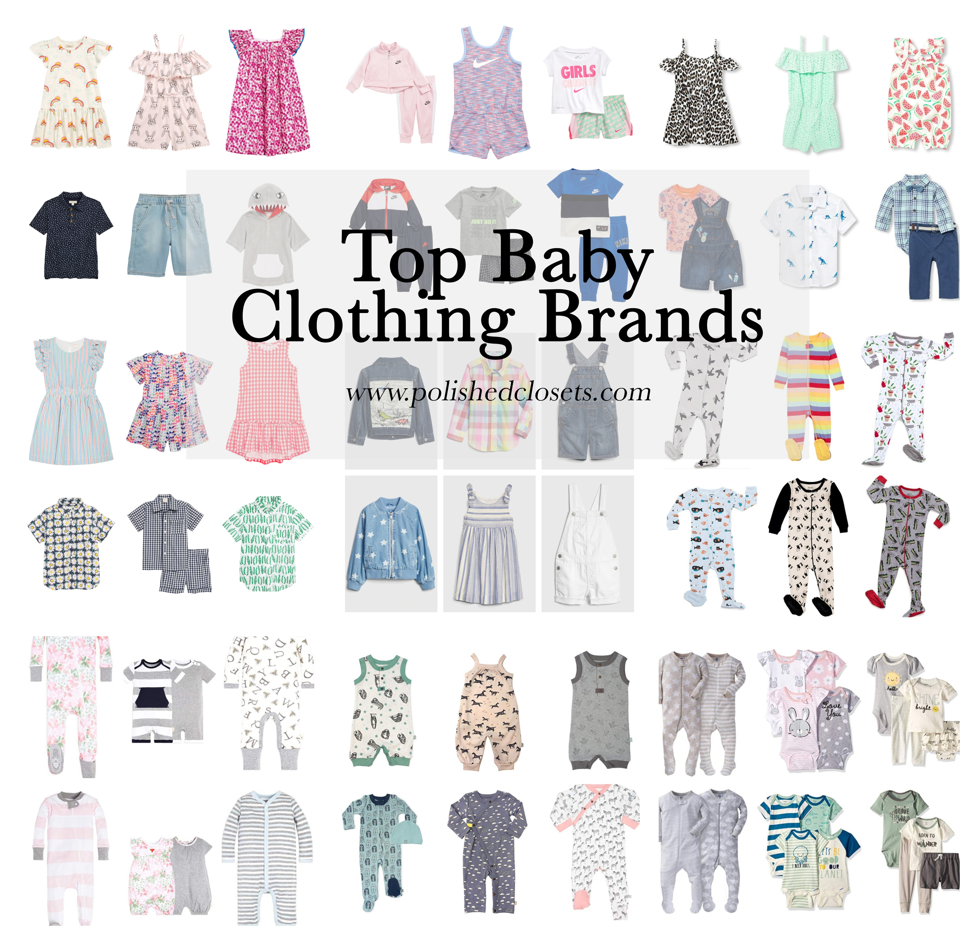 4 Top Baby Clothing Brands - Polished Closets Blog