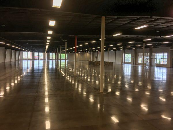 Polished Concrete Warehouse