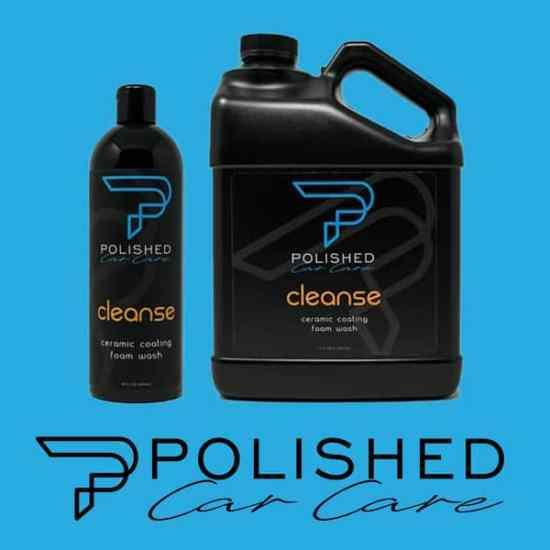 Ceramic coating maintenance foam car wash soap
