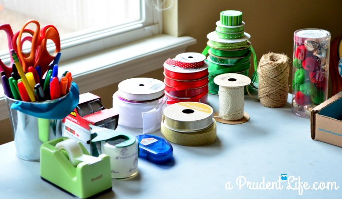 Wrapping Station Ribbon & Tape