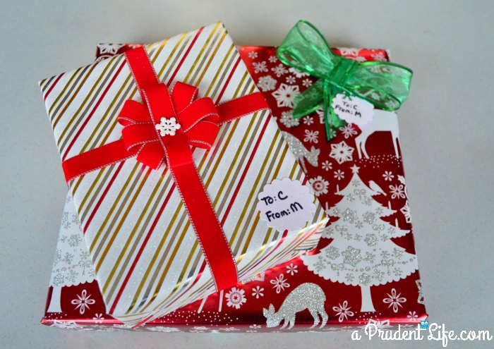 Wrapping Station - Wrapped Gift 1