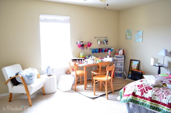 Craft Room Guest Room Combo Room Reveal Part 1 Polished Habitat