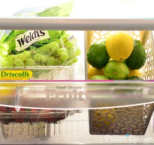 Fruit organization - citrus bin