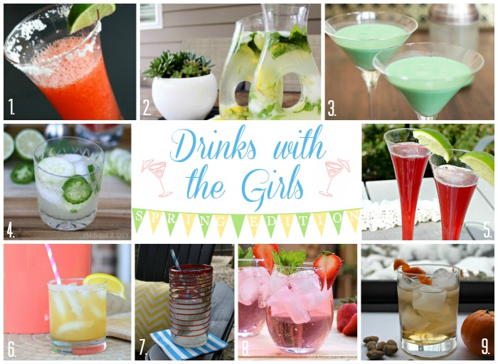 Drinks with the Girls Spring Edition