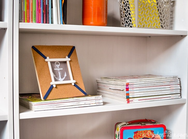 Make your own nautical inspired frame!