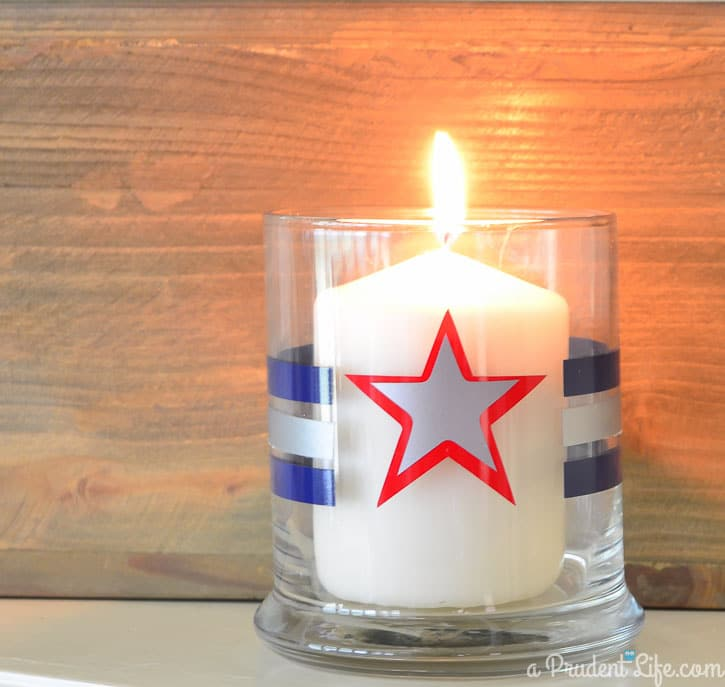 Three easy 4th of July projects made with Expressions Vinyl's Independence Day Pack! #Silhouette #4thofJuly