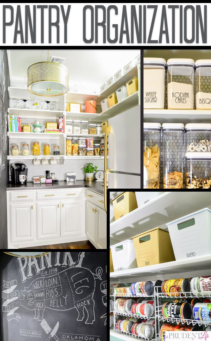 So many of these ideas would help me organize my pantry!