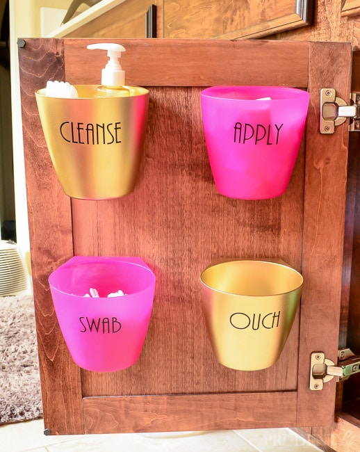 5 Bathroom Organization Tips for Under Your Sink