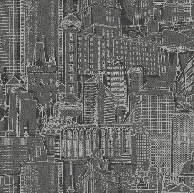 Downtown building wallpaper