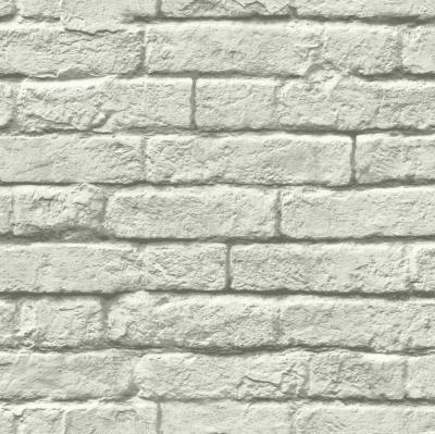 Gray Brick Removable Wallaper