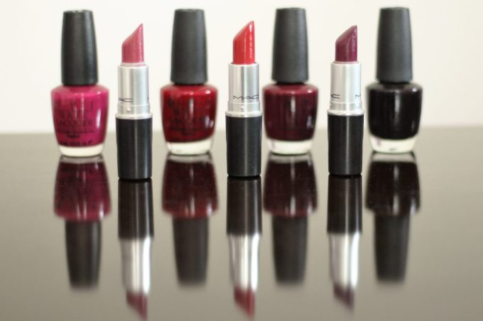 MAC fall lipstick colors