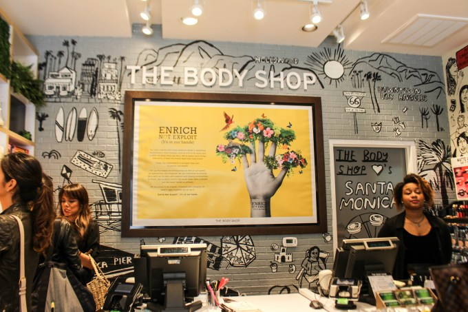 The Body Shop in Santa Monica