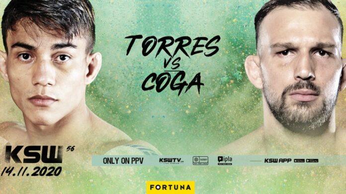 Daniel Torres i Max Coga zmierzą się na gali KSW 56