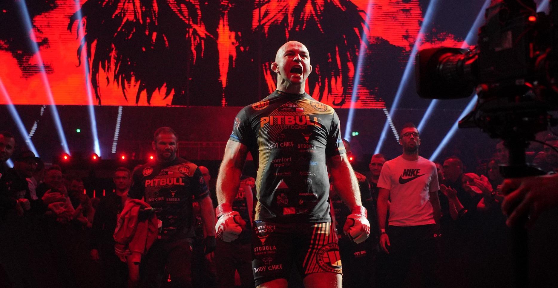 Doniesienia: Michał Włodarek zmierzy się z byłym zawodnikiem UFC na KSW 58! - Polish Fighters