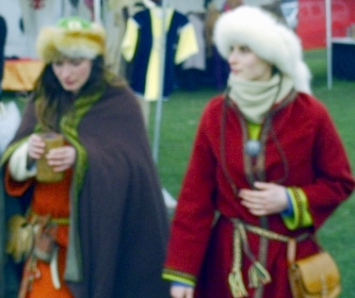 Polish ladies of the Middle Ages Krakow