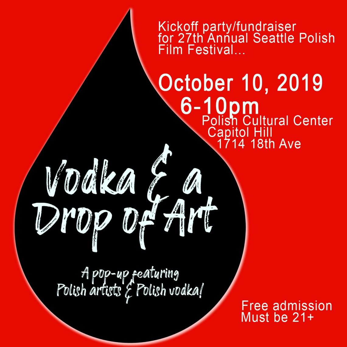 Vodka and a Drop of Art