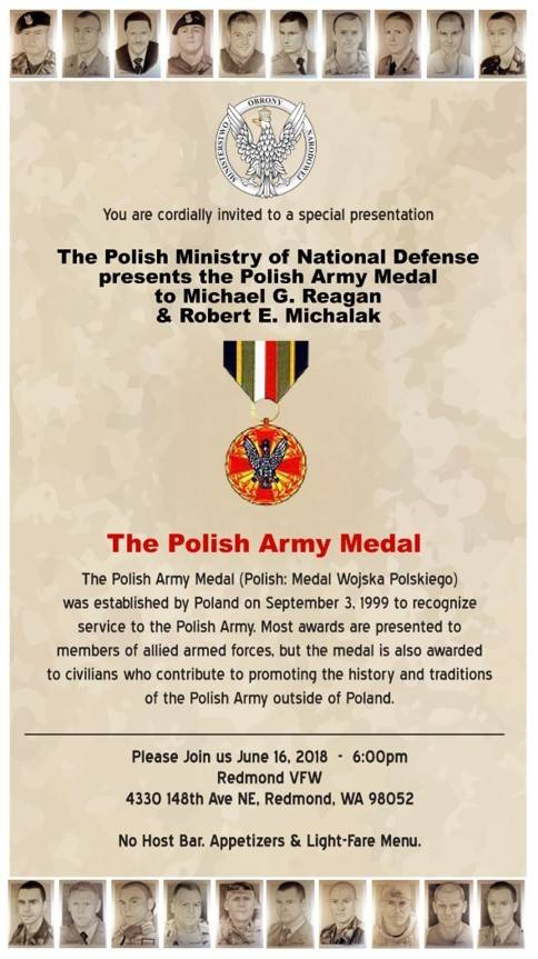 The Polish Army Medal Event