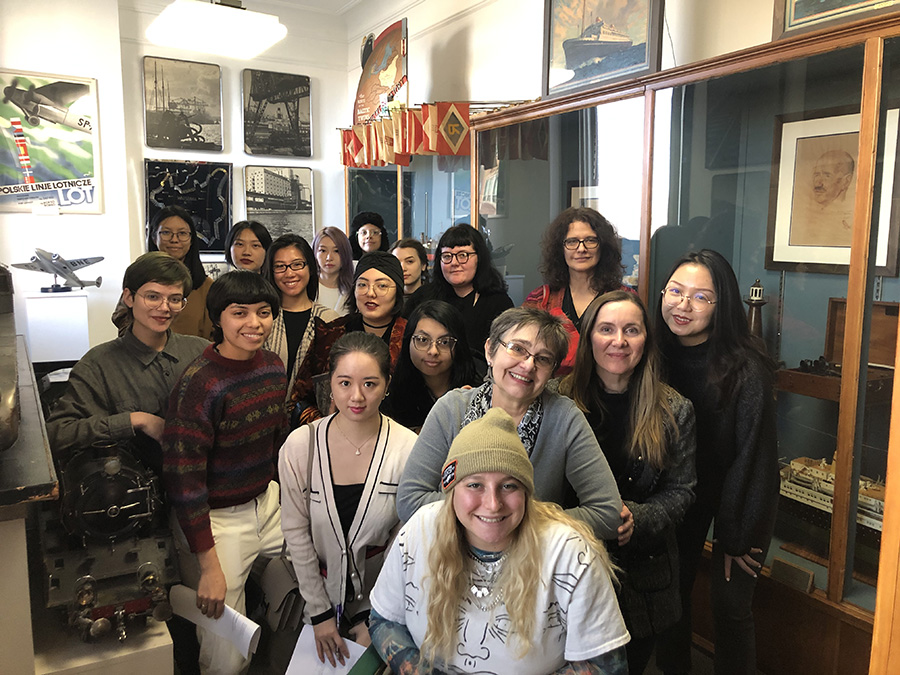 Students from the School of the Art Institute of Chicago!