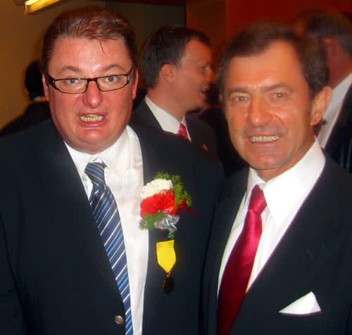 Minister Michał Kamiński oraz prezes dr Bronisław Orawiec