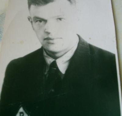 Stanisław Michałowski, robotnik Hasagu wywieziony do Lipska.