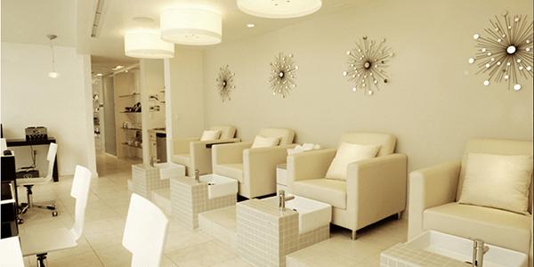Nail Salon Interior Design