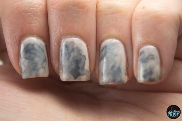 nails, nail art, nail polish, polish, abstract, black, hey darling polish, nail-art-a-go-go