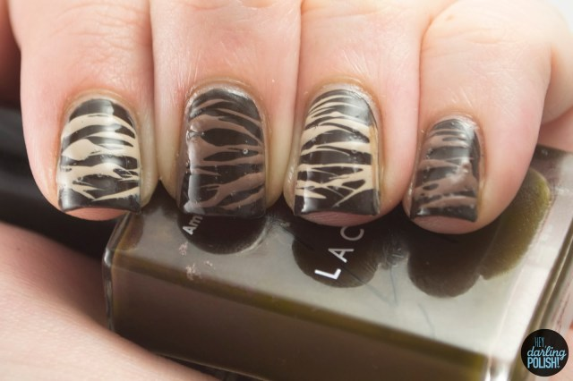 nails, nail art, nail polish, polish, brown, chocolate, sugar spun, nail art a go go, hey darling polish