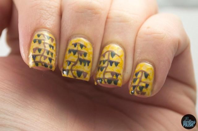 nails, nail art, nail polish, polish, art nouveau, nail art a go go, hey darling polish,