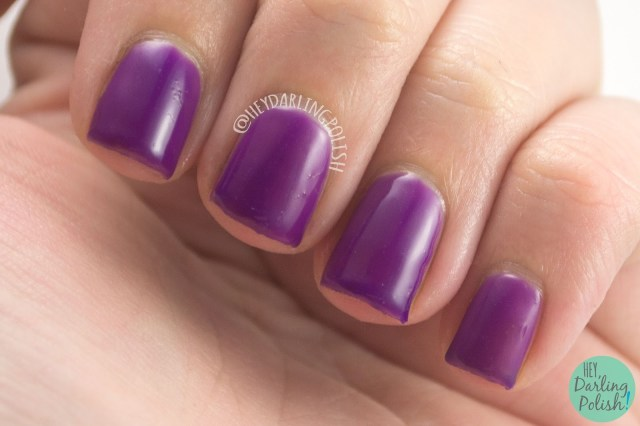 spellbound, purple, jelly, nails, nail polish, indie, indie polish, liquid kandi, halloween, october sweet treat box, swatch