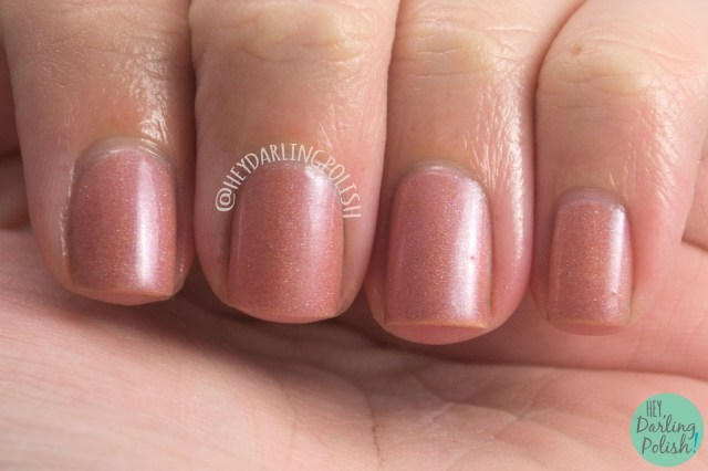 fairest of them all, nude, neutral, holographic, nails, nail polish, indie, indie polish, indie nail polish, hey darling polish, fair maiden polish, be your own heroine