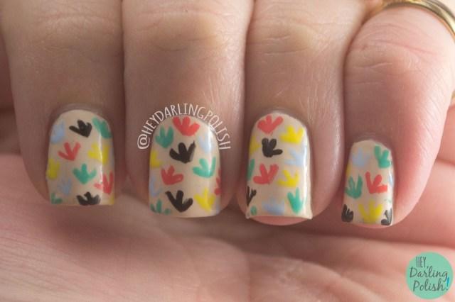 nails, nail art, nail polish, hey darling polish, book, pride and prejudice, the nail challenge collaborative