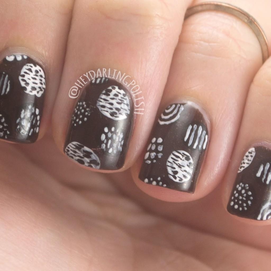 The Nail Challenge Collaborative: Dots - #3 • Polish Those Nails